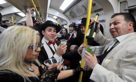 Hamburg metro braces for boozy Facebook party
