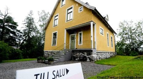 IMF warns of Swedish house price decline