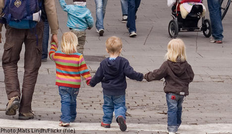 More Swedes having three kids: study