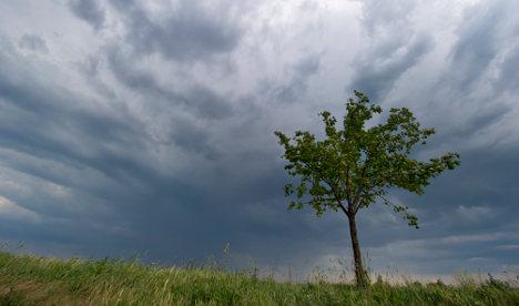 Stormy weekend ahead