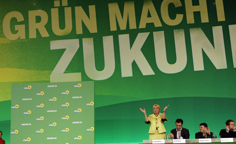 Greens gain support even after Merkel's nuclear exit
