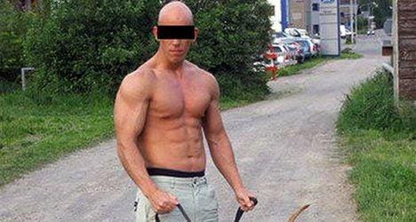 Drugged-up bodybuilder causes road carnage