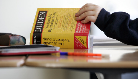 German faces stiff competition for US language students
