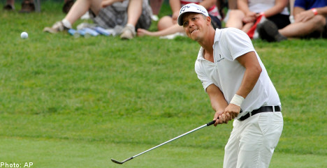 Sweden's Jacobson snags first US PGA title