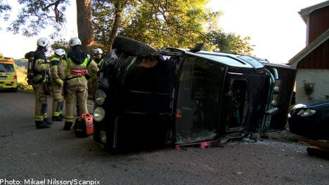Swedish teenagers in deadly crash
