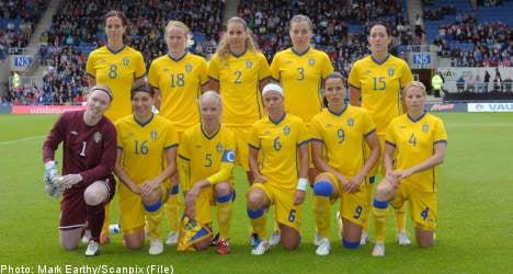 Swedish women start 2011 World Cup quest