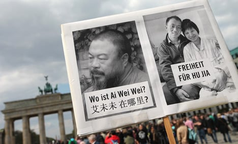 Germany to press China on human rights and artist Ai Weiwei