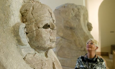 Sphinx returned to Turkey after controversy