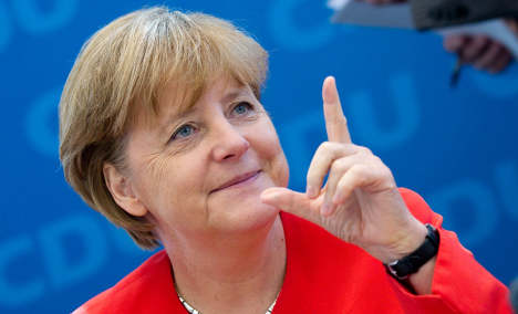 Merkel to stand for chancellor in 2013