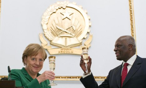 Merkel visits Nigeria amid patrol boat row
