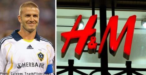 H&M set to sell Beckham-branded undies