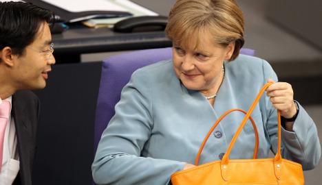 FDP tax revolt threatens Merkel's budget