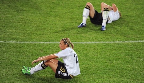 World Cup defeat costs Germany place at 2012 Olympics