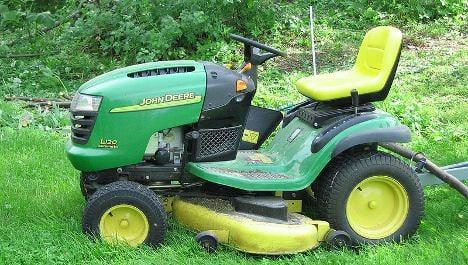 Man dies in savage lawn mower accident