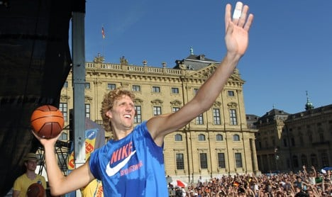 Nowitzki joins Germany for Euro championships