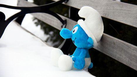 Paris exhibition honours the Smurfs' creator