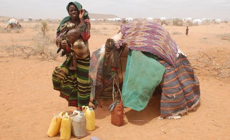 African famine blamed on Chinese land grab