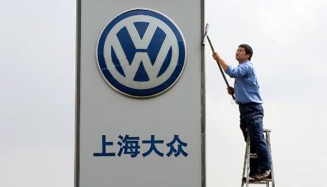 Volkswagen sales hit record amid China boom