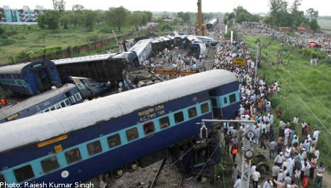 Two Swedes die in India train crash