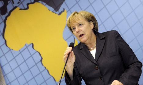 Merkel to visit Africa for economic development talks