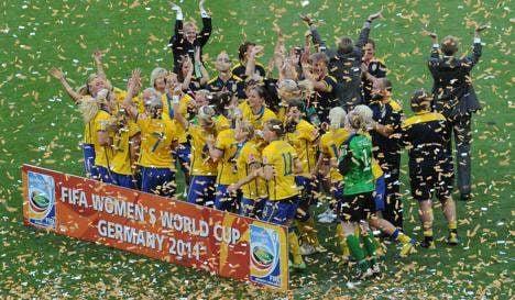 Sweden take third place despite dismissal