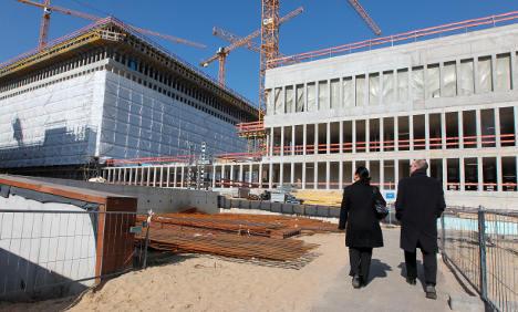 BND intelligence agency loses HQ blueprints