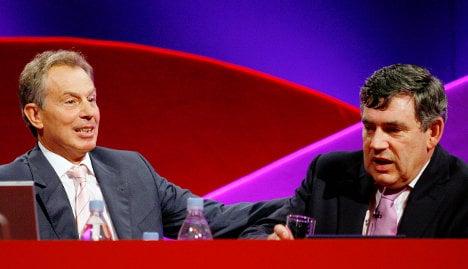UK intel: Berlin and Paris wanted to exploit Blair-Brown feud