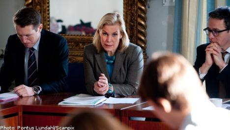Swedish aid money pays off third world debts