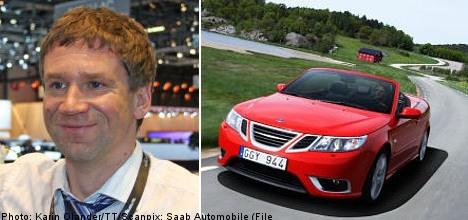 Antonov can't be an owner in Saab: EIB