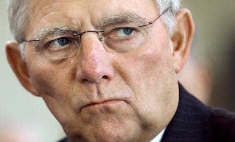 Schäuble wants to 'break' ratings agencies' power