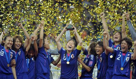 Japan beat USA to win World Cup on penalties