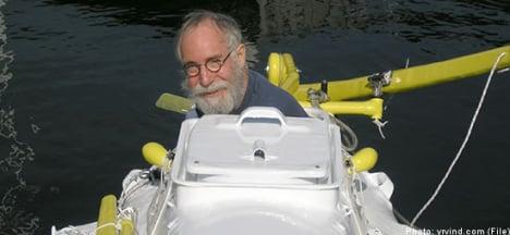 Swede 'sets sail' for US via German autobahn