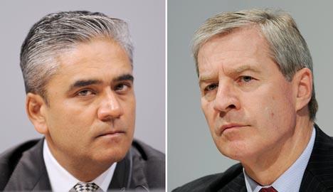Deutsche Bank unveils leadership duo