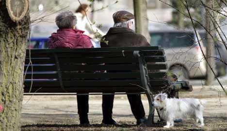 German workers retiring later in life