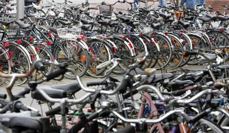 Munich to enforce dedicated bike parking