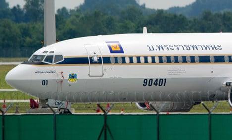 Thai crown prince's plane seized at Munich airport in debt dispute