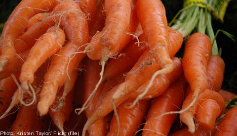 "Swedish stores shun ""ugly"" produce: report"