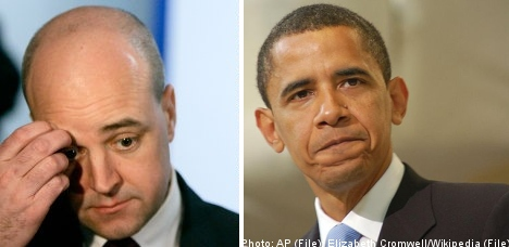 'Obama cares more about Norway than Reinfeldt'
