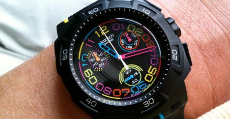 Swatch reports record first-half profit and sales