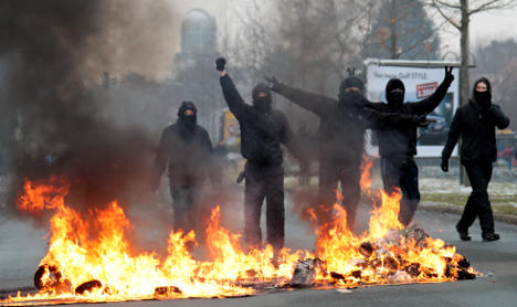 Friedrich warns of political violence
