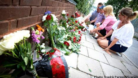 Sweden honours Norwegian terror victims