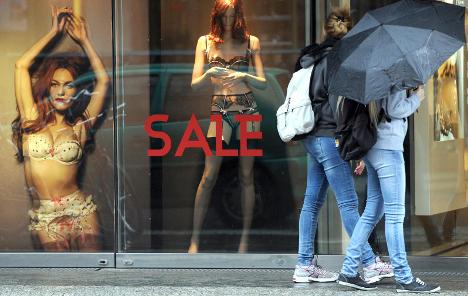 Retail sales surge