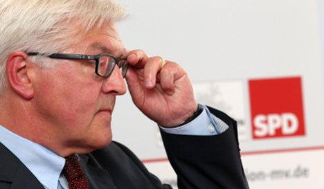 SPD's Steinmeier won't rule out early elections