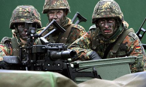 Bundeswehr joins EU combat force