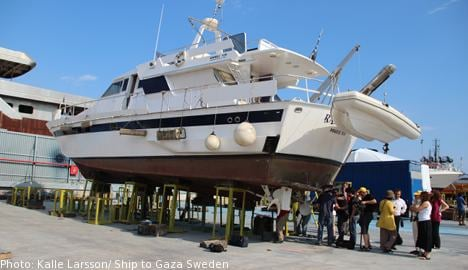 Swedish Ship to Gaza express 'grief and dismay' at Greek authorities