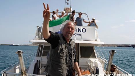 Israel deports Swedish Gaza flotilla activist