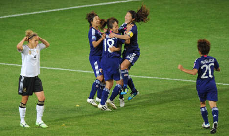 Germany ousted from World Cup by Japan