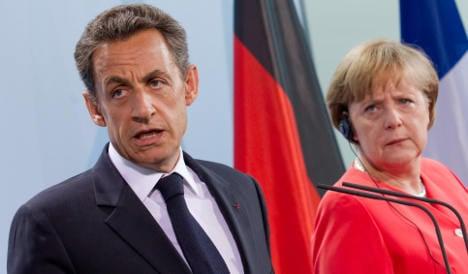 Merkel meets Sarkozy ahead of Euro summit