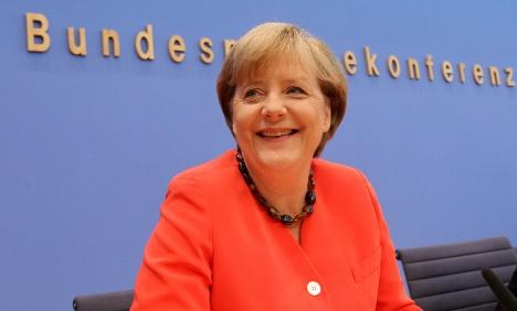 Merkel's euro moment