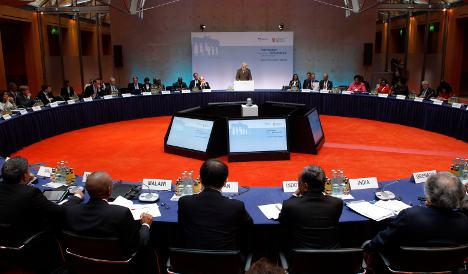 Berlin hosts global climate change summit